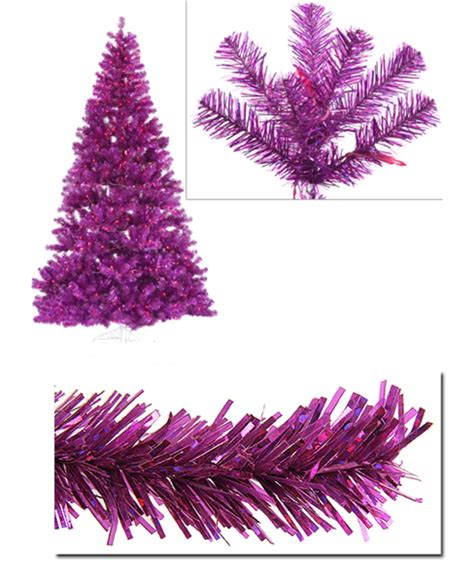 14 pre lit slim pink ashley spruce christmas tree clear
