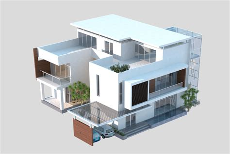 3d model ad house exterior cgtrader 3d models luxury contemporary house 3d model max obj