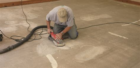 Preparing Concrete Floor For Vinyl Tile by How To Apply An Epoxy Coating An Existing Vinyl Floor