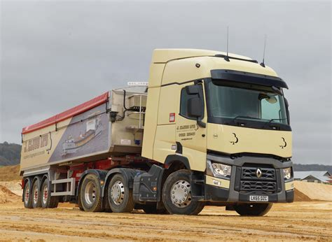 three new renault trucks for j clubb agg net