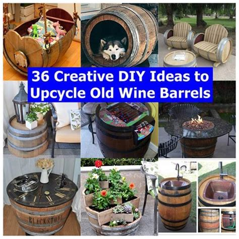 how to use old wine barrels in home decor youtube 36 creative diy ideas to upcycle old wine barrels