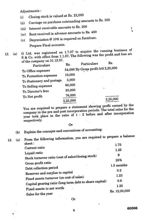 Accounting For Managers Mba Question Papers by Ba7106 Accounting For Management May June 2014 Question