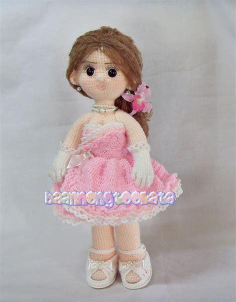 crochet cute doll amigurumi crafts handwork crochet