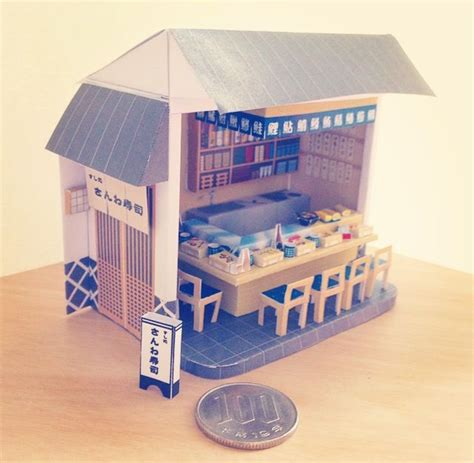 Papercraft Museum - papercraft osushiya thank you paper museum for the