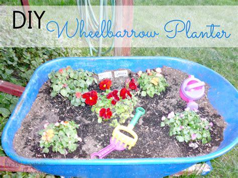 Diy Wheelbarrow Planter by Diy Wheelbarrow Planter Here Comes The Sun