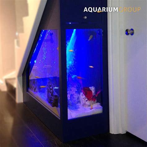 custom built aquarium   beautiful solution