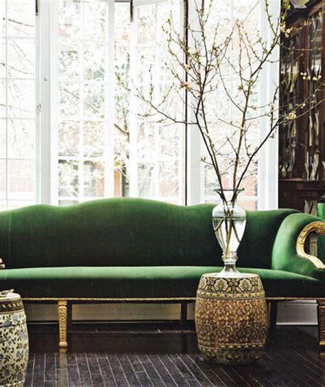 green couch design green velvet sofas design manifestdesign manifest
