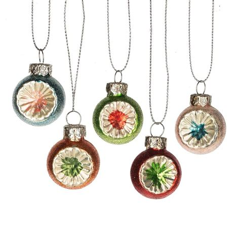 mini witches eye ornament set vintage inspired christmas