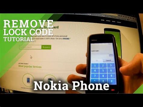 resetting nokia e63 lock code remove lock code in nokia phone factory reset with