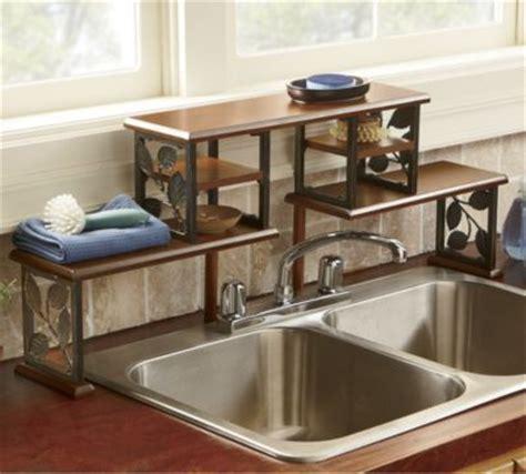 the sink shelf kitchen