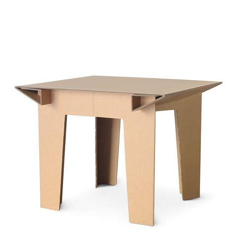 tavolo di cartone linea gaia tavolo in cartone gaia