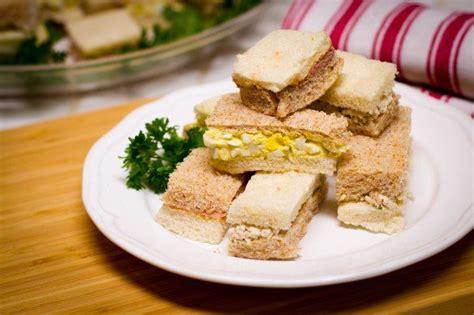 finger sandwiches sandwiches pinterest christmas