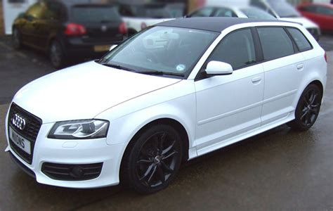 White S3 Audi by Audi S3 Gloss White Wrap Concepts