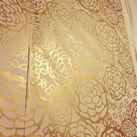 Gold Temporary Wallpaper | gold removable wallpaper