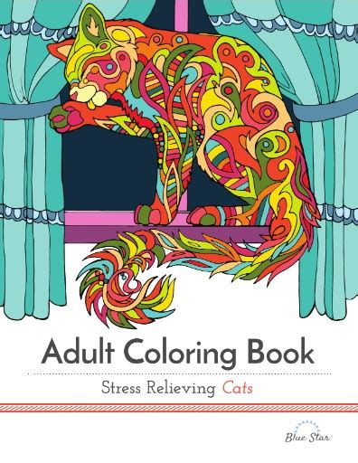 coloring books for adults subscription coloring book stress relieving cats digital