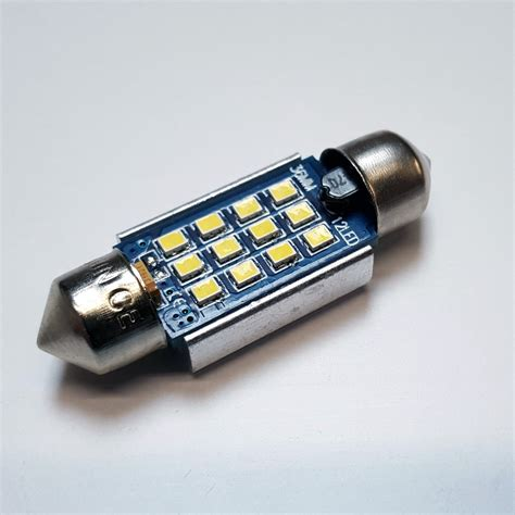 car led bulb 12v 24v 12x smd 2016 239 242 c5w 36mm canbus