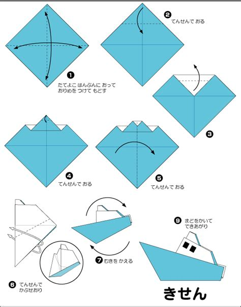 Origami Ships - extremegami how to make a origami ship
