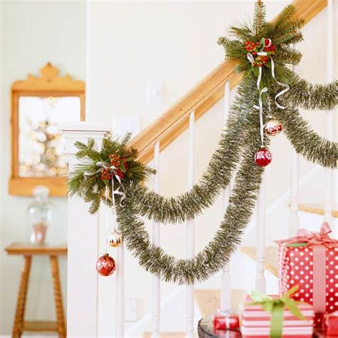 decorative garlands home christmas home decorating ideas with garlands and swags