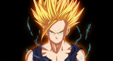 wallpaper dragon ball z gohan gohan ssj2 wallpaper and background image 1919x1037