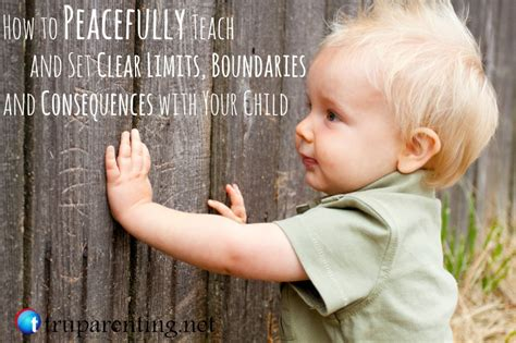 a baby to bind his one with consequences books how to peacefully teach and set clear limits boundaries