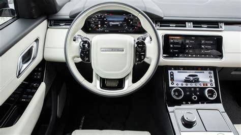 range rover velar dashboard range rover velar suv interior dashboard satnav carbuyer