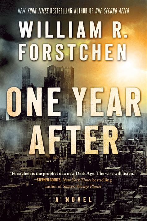 one books one year after william r forstchen macmillan