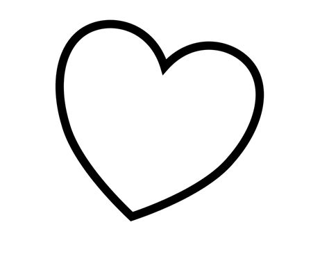 coloring page of a heart heart coloring pages coloring pages 8501 bestofcoloring com