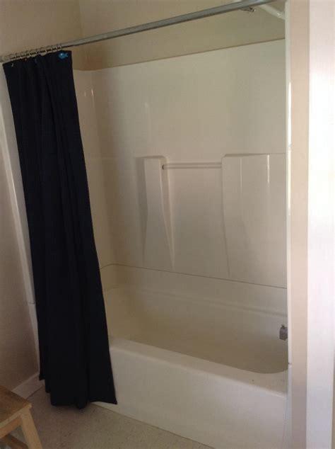 bathroom   Disassemble and remove bathtub?shower