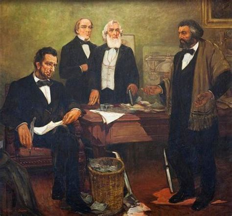 douglas and lincoln when douglass met lincoln the new york times