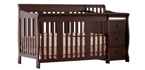 Changing Table Attached To Crib 3 Convertible Baby Cribs With Attached Changing Tables
