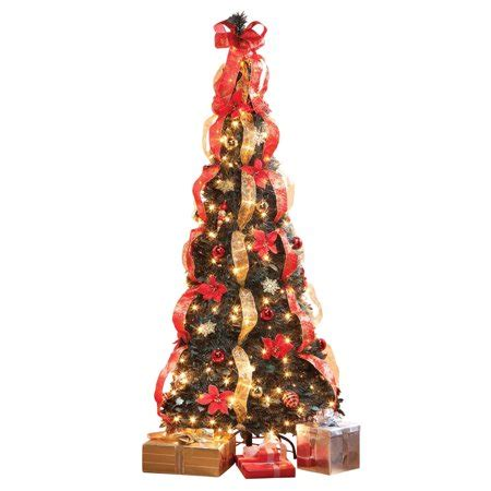 walmart pull up christmas tree 7 poinsettia pull up tree by peaktm walmart