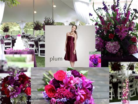 plum wedding colors fall wedding colors purple and plum wedding weddings