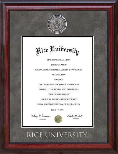 touro university designer diploma frame wordyisms rice designer diploma frame wordyisms