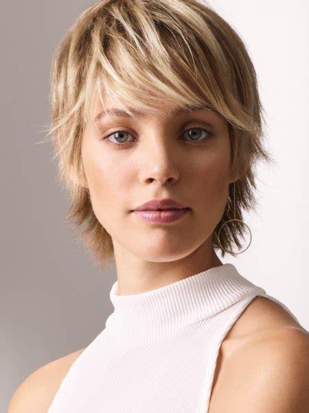 short haircut  femininity