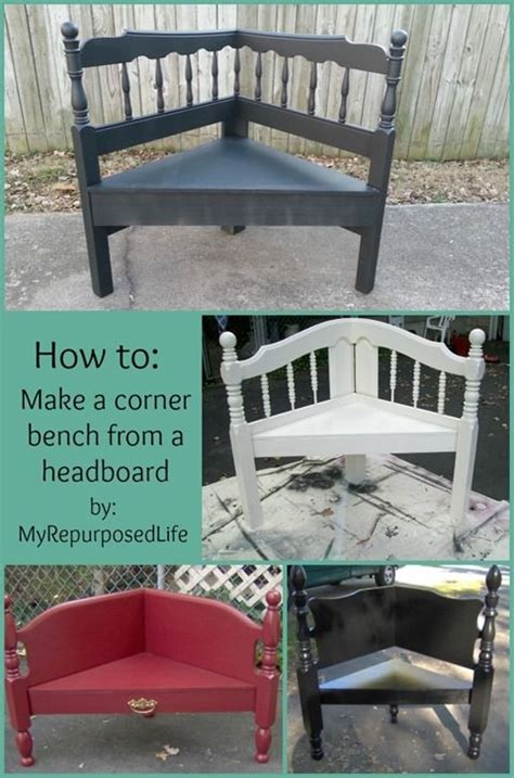 how to make a bench from a headboard best 25 corner bench ideas on pinterest
