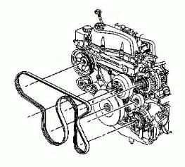 4 2l inline six cylinder engine belt diagram