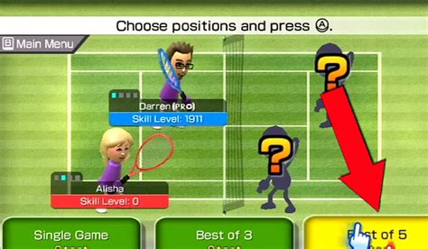 best tennis for wii how to a of tennis on wii sports 5 steps