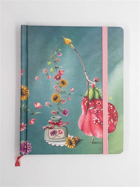 fata dei fiori quaderno con copertina rigida fata dei fiori happy shop