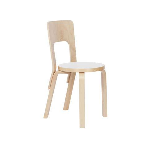 sedia alvar aalto artek sedia aalto 66 laminato bianco design shop