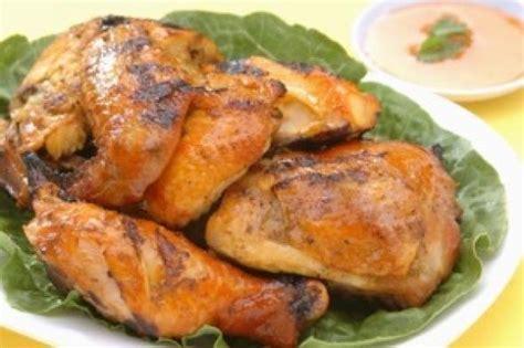 thai dinner party menu thai bbq chicken