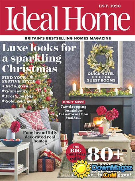 home decorating magazines uk ideal home uk december 2016 187 download pdf magazines