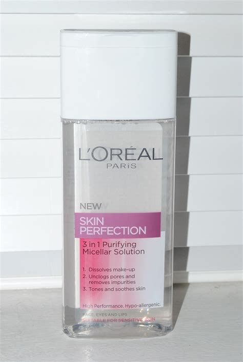 L Oreal Micellar Water l oreal micellar water cleanser skin perfection 3 in 1
