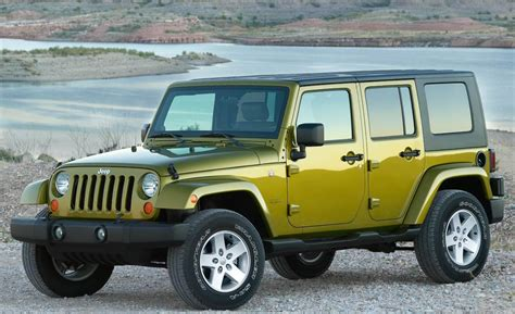 Jeep Wrangler 2008 Car And Driver