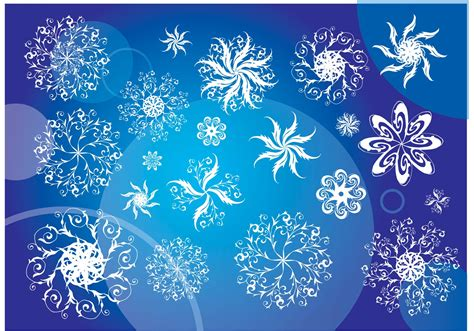 vector snowflakes   vector art stock graphics images