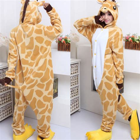Piyama Sleepy Giraffe animals pajama pyjamas sleepsuit jumpsuit costume giraffe