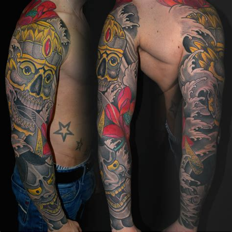 Asia Arm by Of Paint Tattoos Tom Professionelle Asia Tattoos