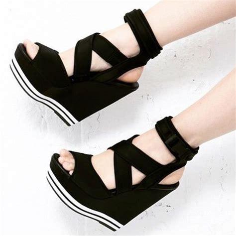 steve madden platform wedges chaussure