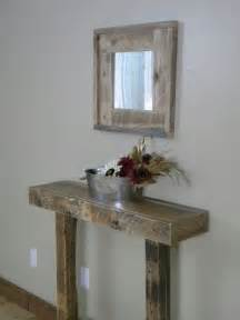 rustic entry table narrow entry table side table