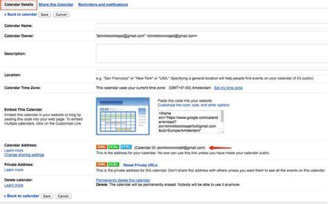 Calendar Docs Integration Benutzungsprozess Synchronisierung Mit Anderen Kalendern