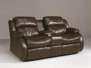 mollifield reclining loveseat with console
